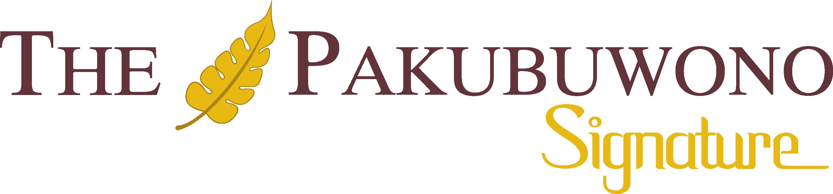 The Pakubuwono Signature